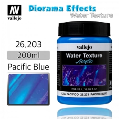 26203 Diorama Effects _ Water Texture _ 200ml _ Pacific Blue