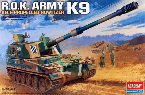 13219  1/35 ROK Army K9 155mm Howitzer