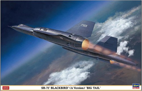 02278 (한정판)  1/72 SR-71 Blackbird (A Version) Big Tail