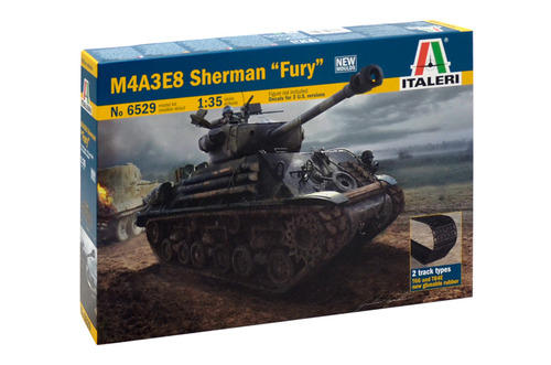 6529 1/35 M4A3E8 Sherman 'Fury'