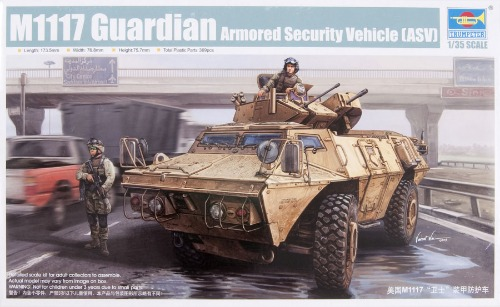 01541  1/35 M1117 Guardian Armored Security Vehicle (ASV)
