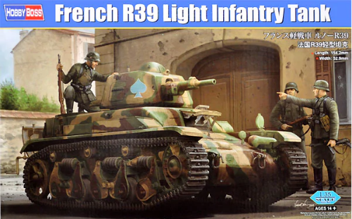 83893  1/35 French R39 Light Infantry Tank