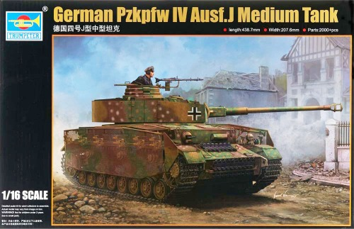 00921  1/16 German Pz.kpfw.IV Ausf.J Medium Tank