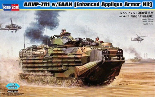 82414  1/35 AAVP-7A1 w/EAAK [Enhanced Applique Armor Kit]