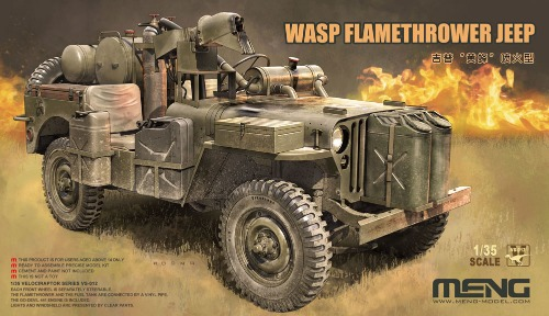 VS012  1/35 MB WASP Flamethrower Jeep