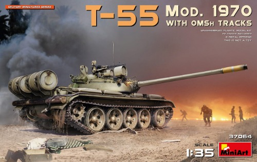 37064 1/35 T-55 Mod. 1970 with OMSh Tracks