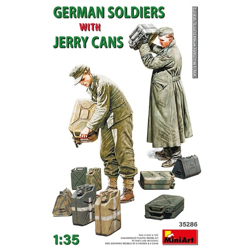 35286 1/35 German Soldiers with Jerry Cans