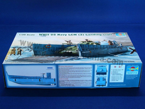 00347 1/35 WWII Navy LCM 3 Landing Craft