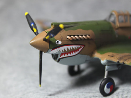 01632 1/72 P-40B/C Warhawk Fighter
