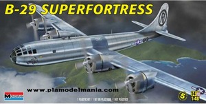 5718 1/48 B-29 Superfortress w/5 Crew