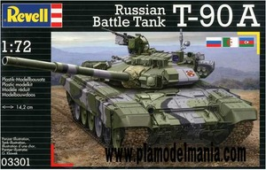 3301 1/72 Russian Battle Tank T-90A