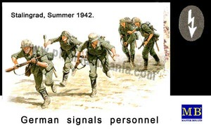mb3540  1/35 German Signals Personnel, Stalingrad, Summer 1942
