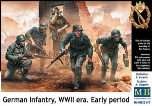 MB35177  1/35 WWII German Infantry Early Period