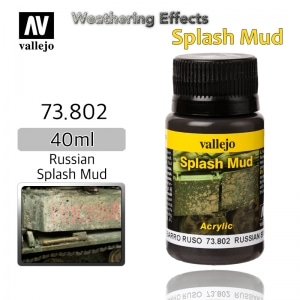 73802 Weathering Effects _ Splash Mud _ 40ml _ Russian Splash Mud