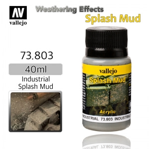 73803 Weathering Effects _ Splash Mud _ 40ml _ Industrial Splash Mud