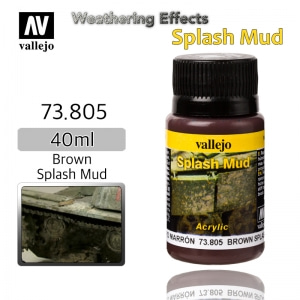 73805 Weathering Effects _ Splash Mud _ 40ml _ Brown Splash Mud