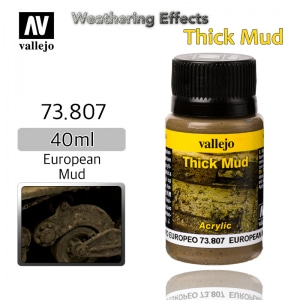 73807 Weathering Effects _ Thick Mud _ 40ml _ European Mud