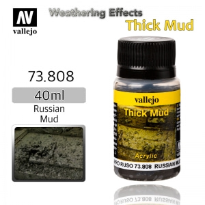 73808 Weathering Effects _ Thick Mud _ 40ml _ Russian Mud