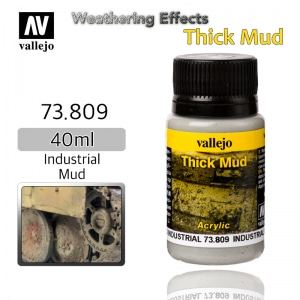 73809 Weathering Effects _ Thick Mud _ 40ml _ Industrial Mud