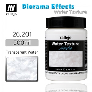 26201 Diorama Effects _ Water Texture _ 200ml _ Transparent water (colorless)