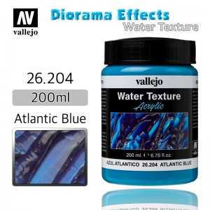 26204 Diorama Effects _ Water Texture _ 200ml _ Atlantic Blue