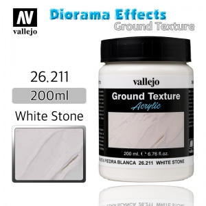 26211 Diorama Effects _ Ground Texture _ 200ml _ White Stone