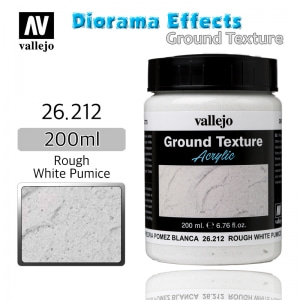 26212 Diorama Effects _ Ground Texture _ 200ml _ Rough White Pumice