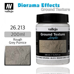 26213 Diorama Effects _ Ground Texture _ 200ml _ Rough Grey Pumice