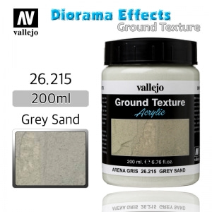 26215 Diorama Effects _ Ground Texture _ 200ml _ Grey Sand
