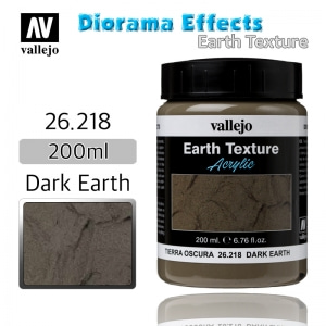 26218 Diorama Effects _ Earth Texture _ 200ml _ Dark Earth