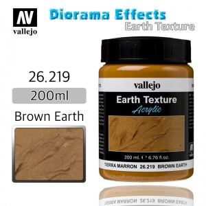 26219 Diorama Effects _ Earth Texture _ 200ml _ Brown Earth