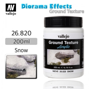26820 Diorama Effects _ Ground Texture _ 200ml _ Snow