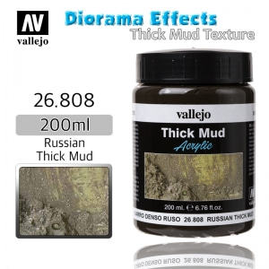 26808 Diorama Effects _ Thick Mud Texture _ 200ml _ Russian Thick Mud