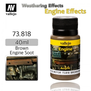 73818 Weathering Effects _ Engine Effects _ 40ml _ Brown Engine Soot