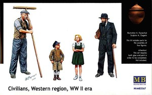 3567 1/35 Civilians Western region WWII