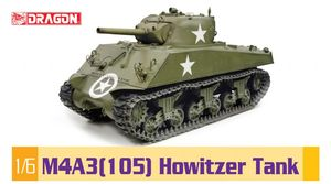 BD75046 1/6 M4A3(105) Howitzer Tank