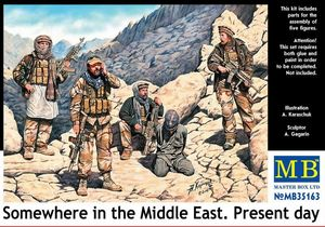 mb35163 1/35 Somewhere in the Middle East. Present day (5 Figures)
