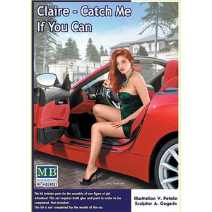 MB24021  1/24 Dangerous Curves, Claire - Catch Me If You Can