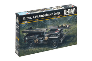 0326  1/35 1/4 ton. 4x4 AMBULANCE JEEP