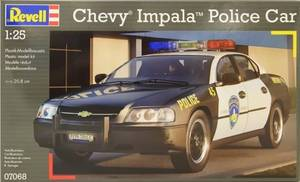 BV7068   1/25 Chevy® Impala™ Police Car