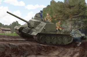 1/16 Soviet Su-100 Tank Destroyer