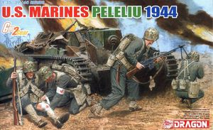6554    1/35 U.S. Marines Peleliu 1944 (4 Figures Set)