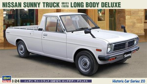 BH21120  1/24 Nissan Sunny Truck (GB121) Long Body Deluxe (New Tool- 2014)