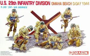 6211    1/35 US 29th Infantry Div. Omaha Beach