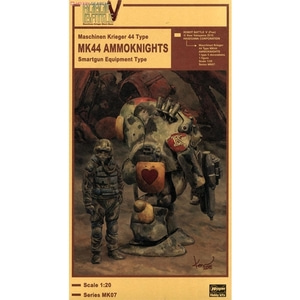 BH64007 1/20 Robot Battle V (Five) Maschinen Krieger 44 Type MK44 Ammoknight (Smartgun Equipment Type)