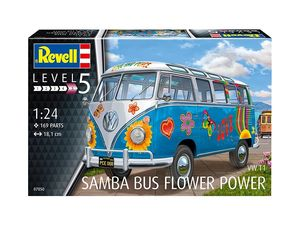 BV7050  1/24 VW T1 Samba Bus Flower Power