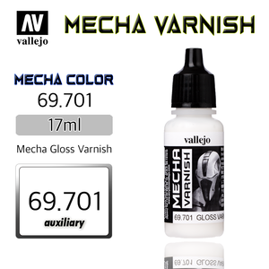 Vallejo _ 69701 Mecha Color _ Varnish _ 17ml _ Mecha Gloss Varnish