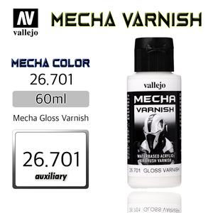 Vallejo _ 26701 Mecha Color _ Varnish _ 60ml _ Mecha Gloss Varnish