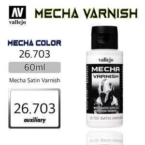 Vallejo _ 26703 Mecha Color _ Varnish _ 60ml _ Mecha Satin Varnish