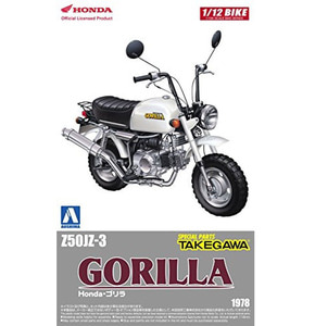 AOS05222  1/12 Honda Monkey Custom Takegawa Specification Ver.1